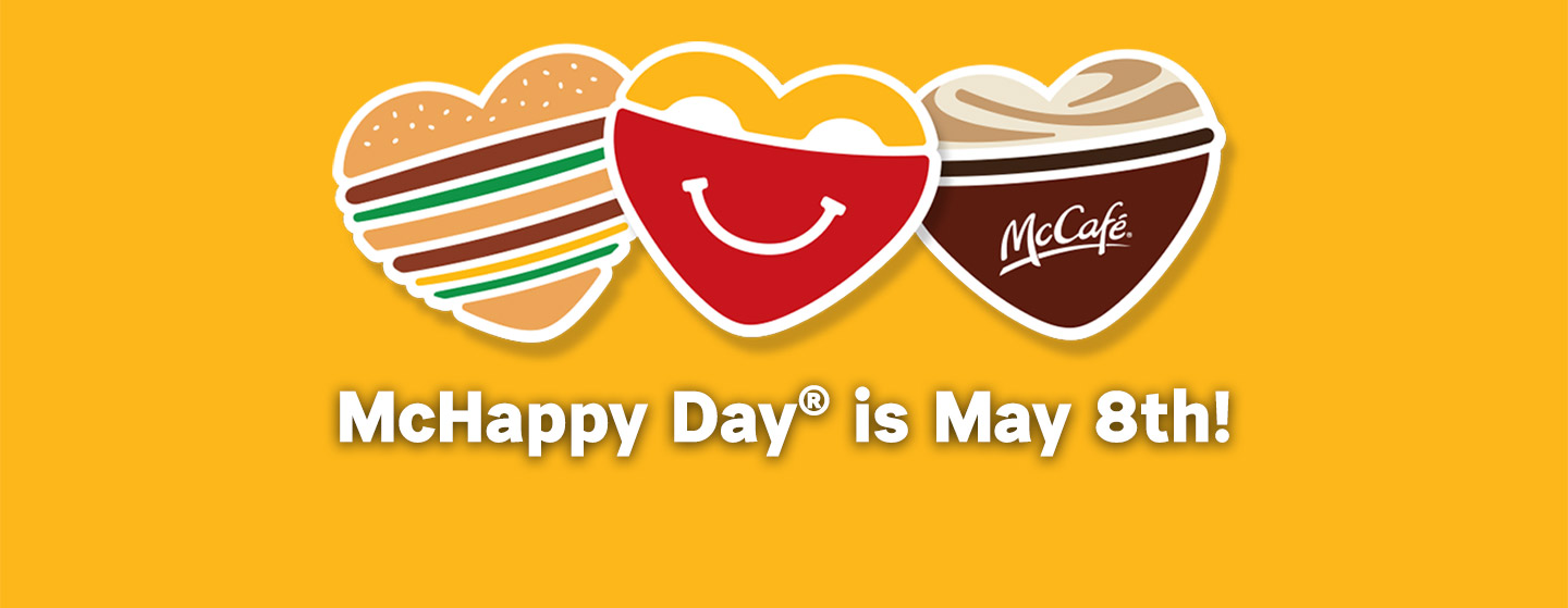 McHappy Day® is May 8th!