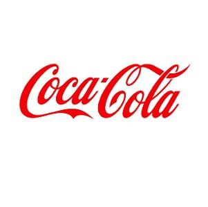 Logo menant au site de Coca-Cola