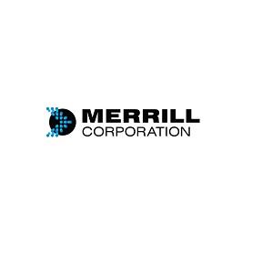 Logo menant au site de Merrill Corp