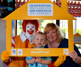 1977 McHappy Day Founding Celebration