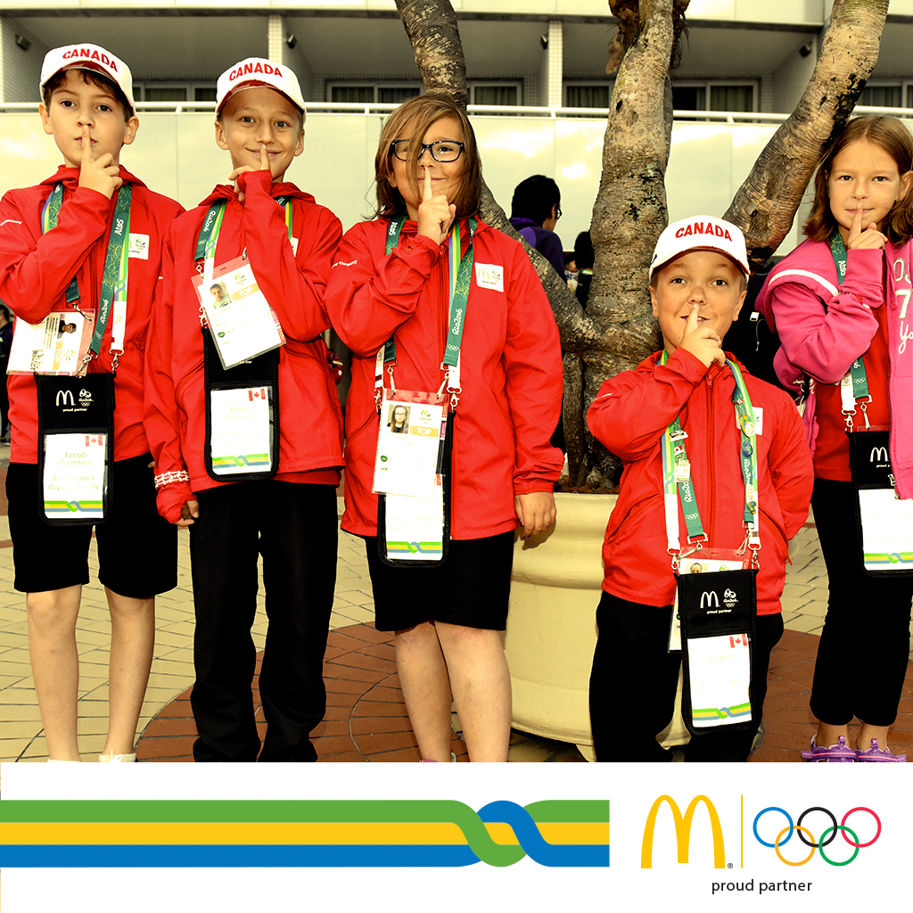 RMHC Families Going To 2016 Rio Olympics.